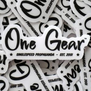 Autocollant One Gear