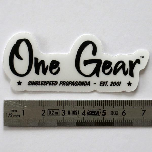 Lot d'autocollants One Gear